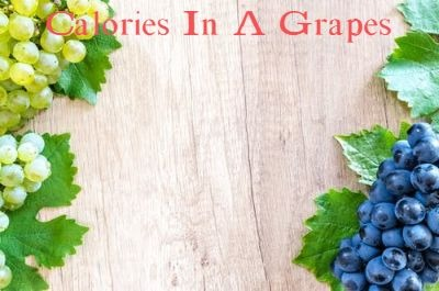 calories in a grapes