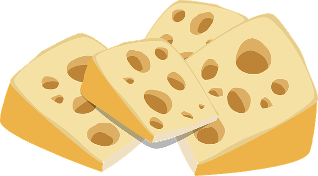 Is Swiss cheese high in calories